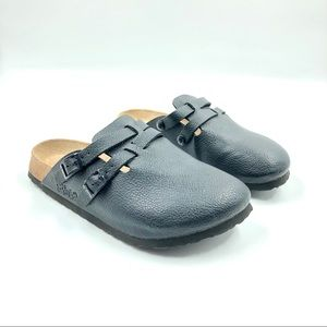 Birkenstock Birki's • Camden Leather Buckle Clog
